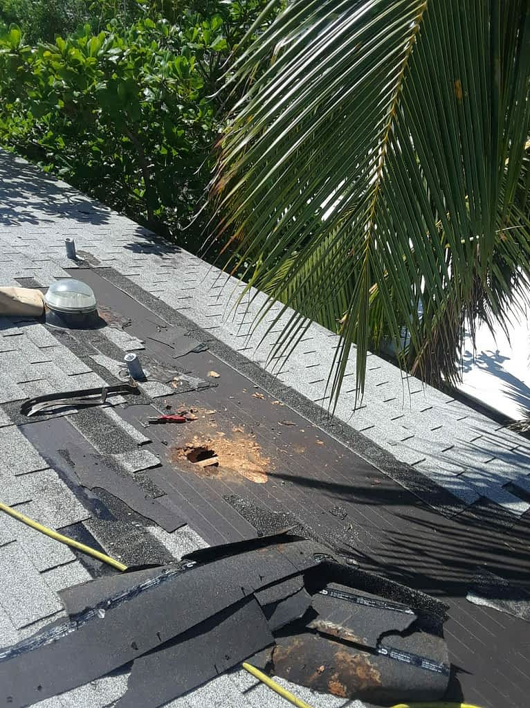 Port St Lucie Roof Repair before photo